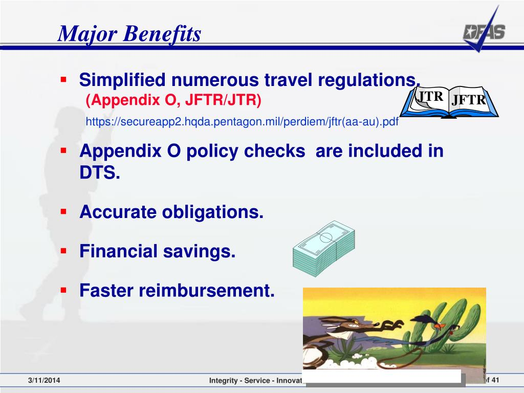 Simplified numerous travel regulations.