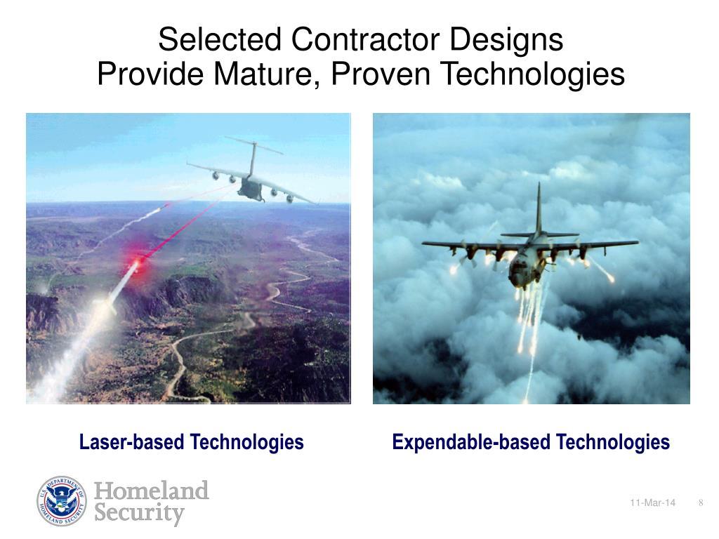 Selected Contractor Designs