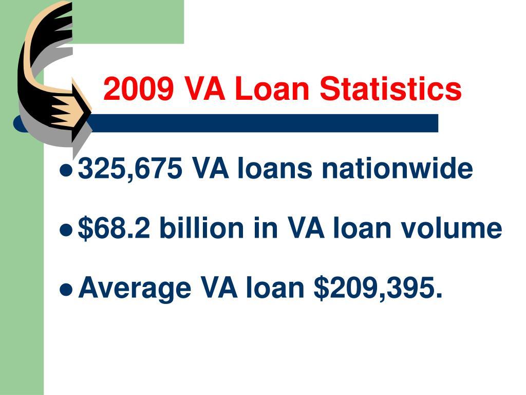 2009 VA Loan Statistics