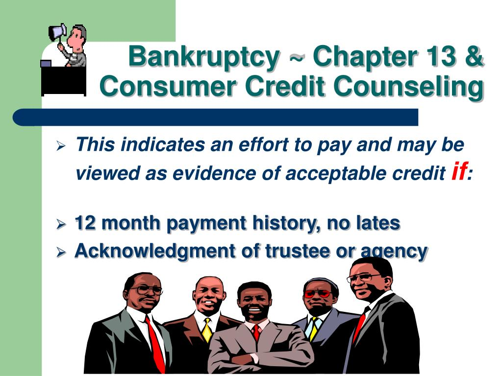 Bankruptcy ~ Chapter 13 &