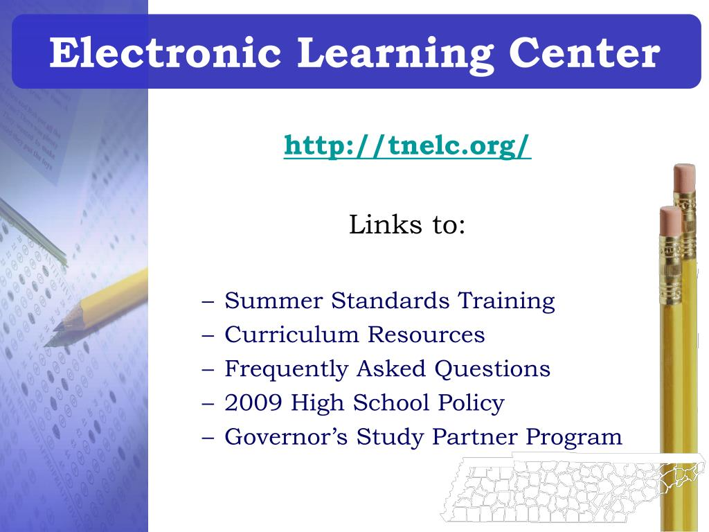 Electronic Learning Center