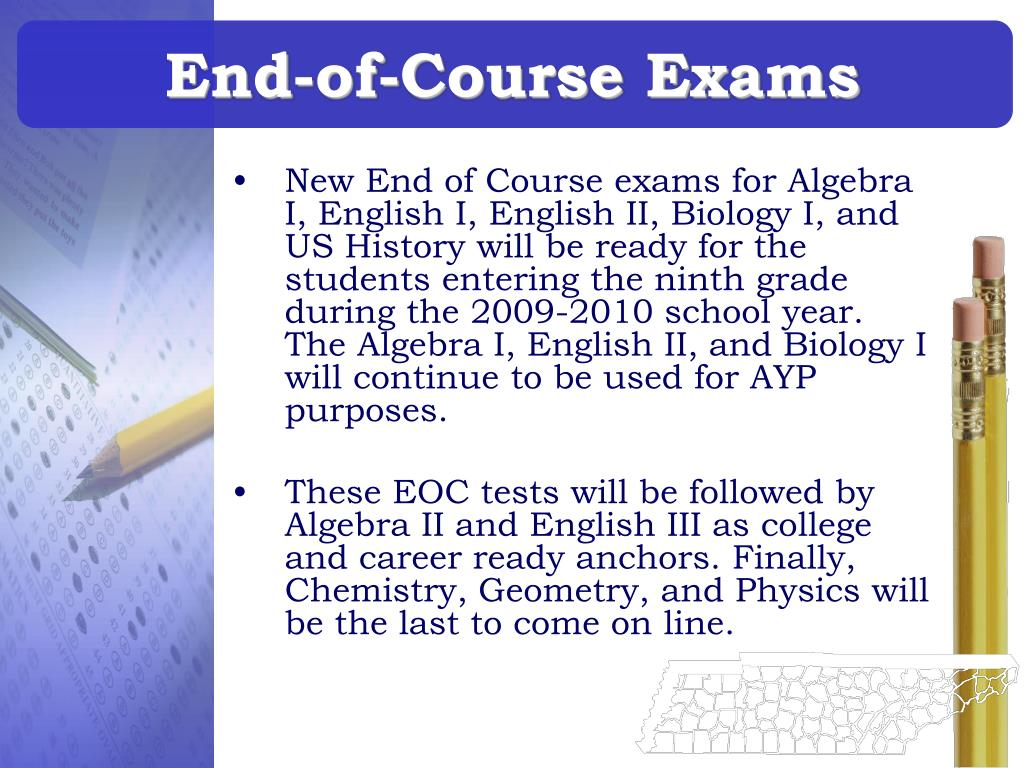 End-of-Course Exams