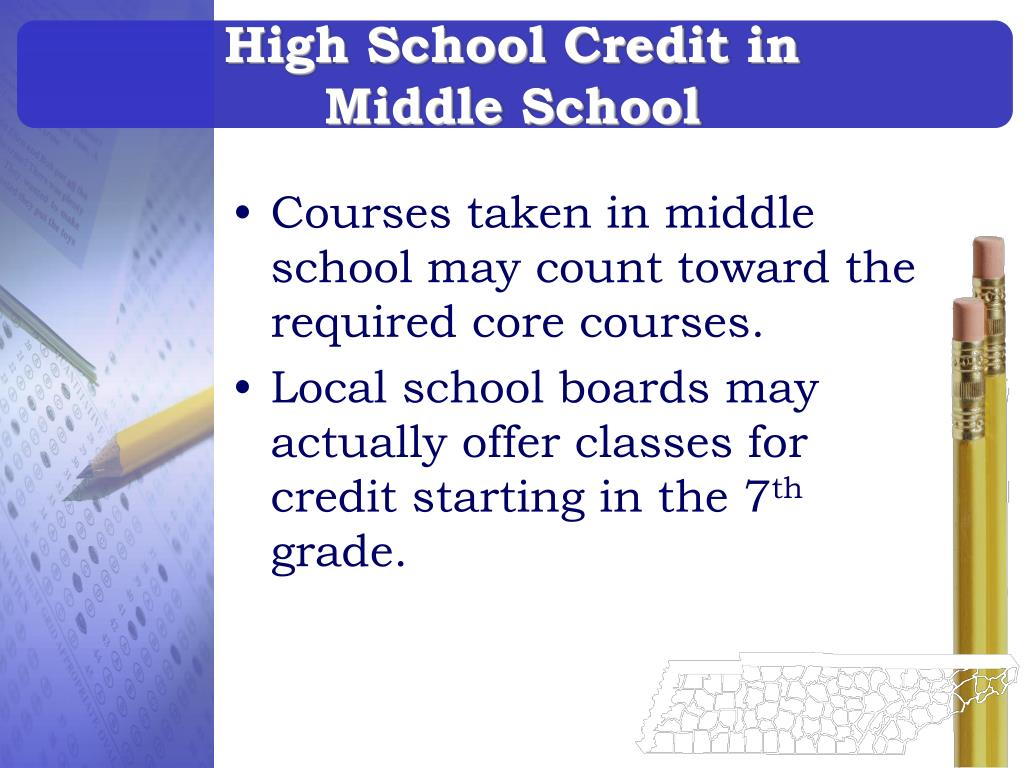 High School Credit in