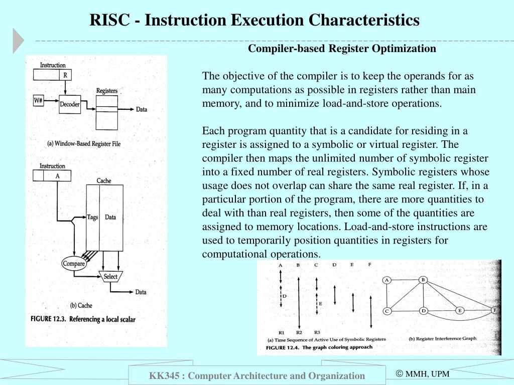 RISC - Instruction Execution Characteristics