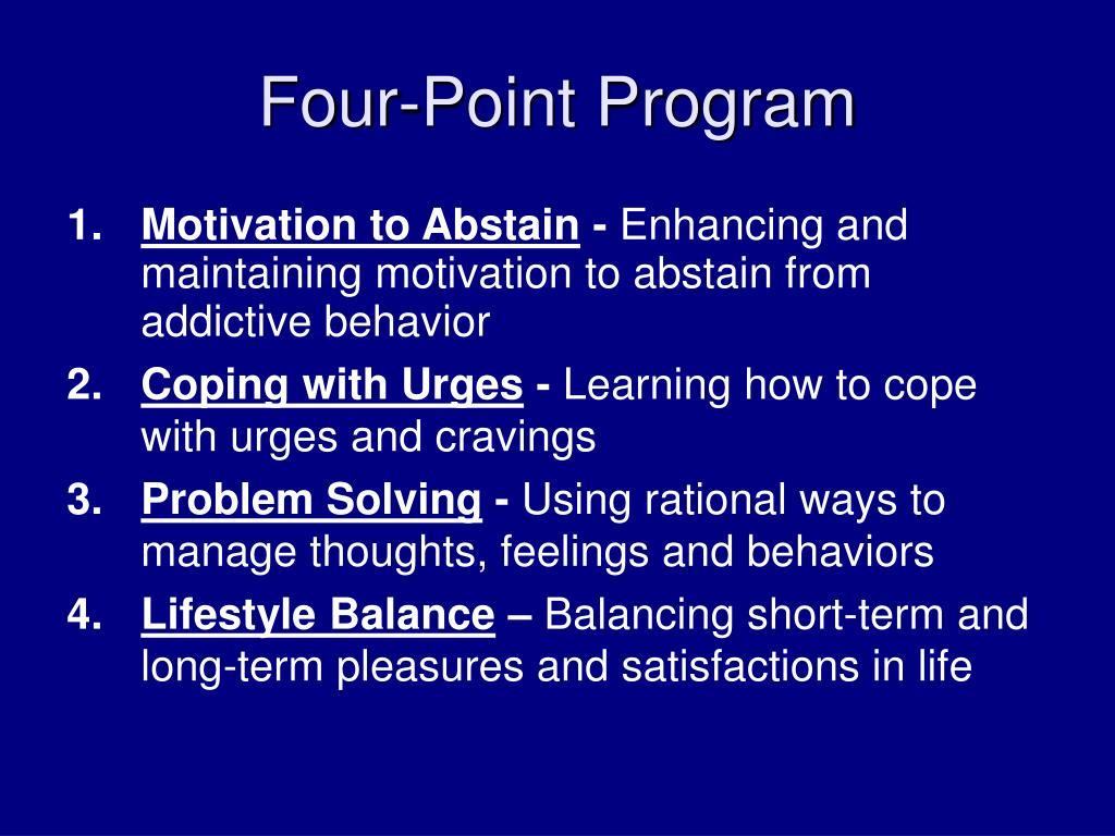 Four-Point Program