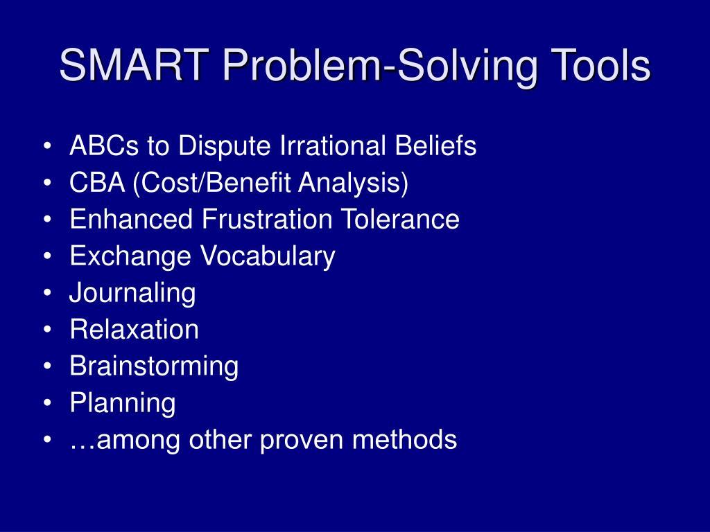 SMART Problem-Solving Tools