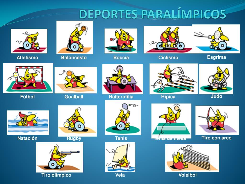DEPORTES PARALÍMPICOS