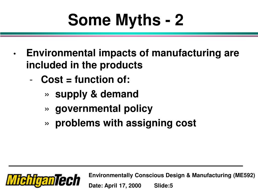 Some Myths - 2