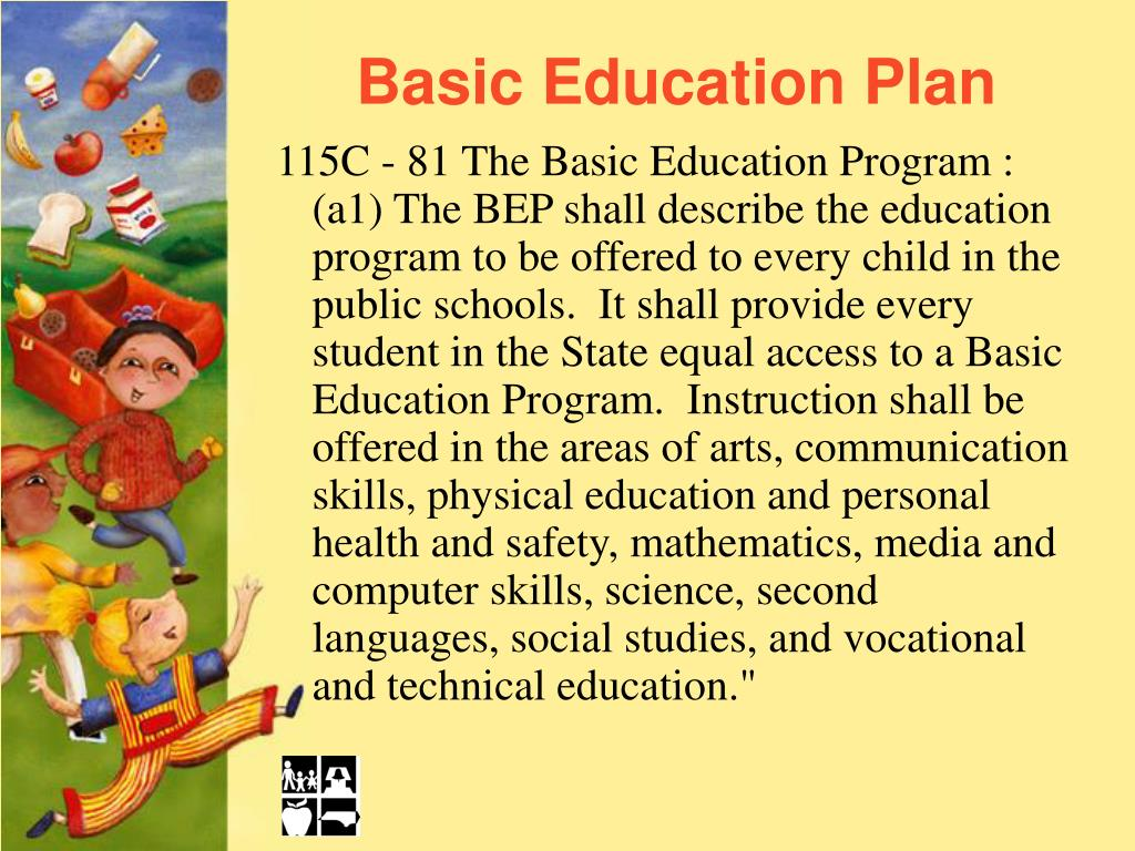 Basic Education Plan