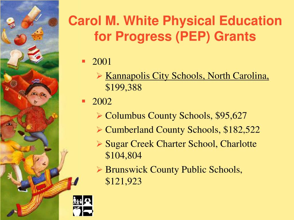 Carol M. White Physical Education for Progress (PEP) Grants