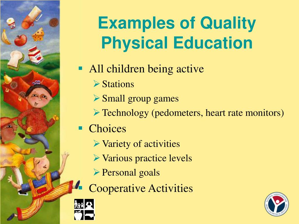 Examples of Quality Physical Education