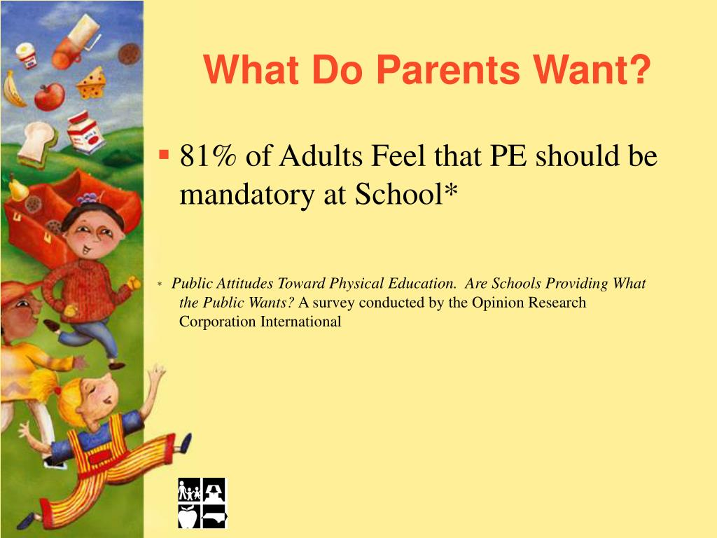 What Do Parents Want?