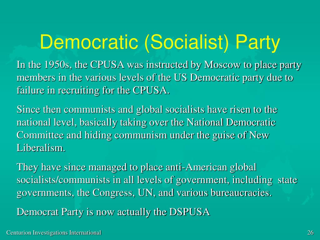 Democratic (Socialist) Party