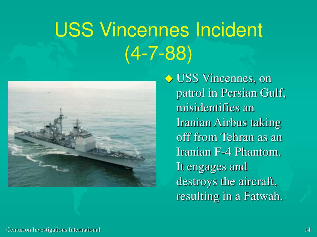 USS Vincennes Incident