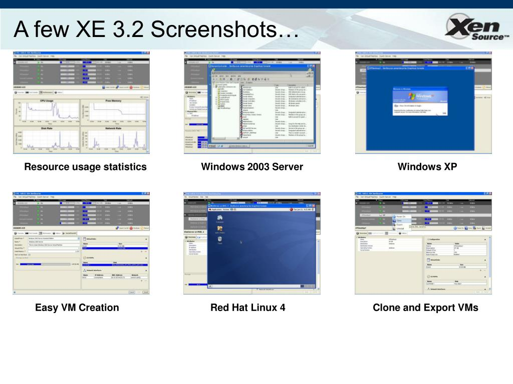 A few XE 3.2 Screenshots…