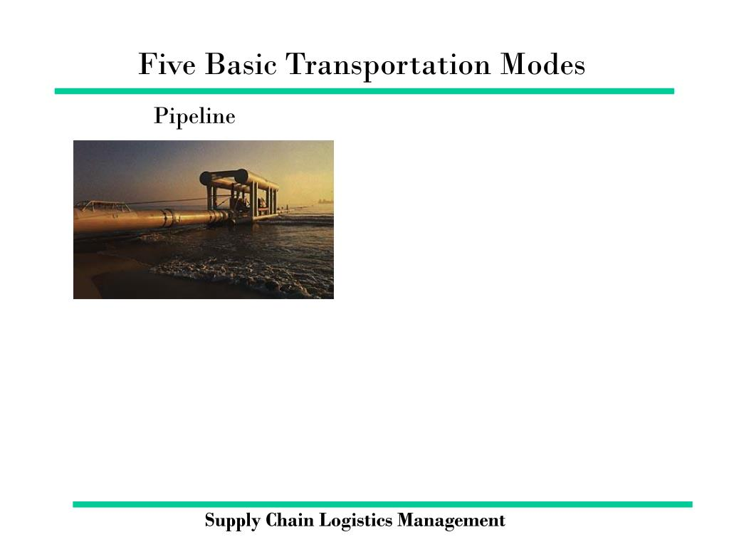 Five Basic Transportation Modes