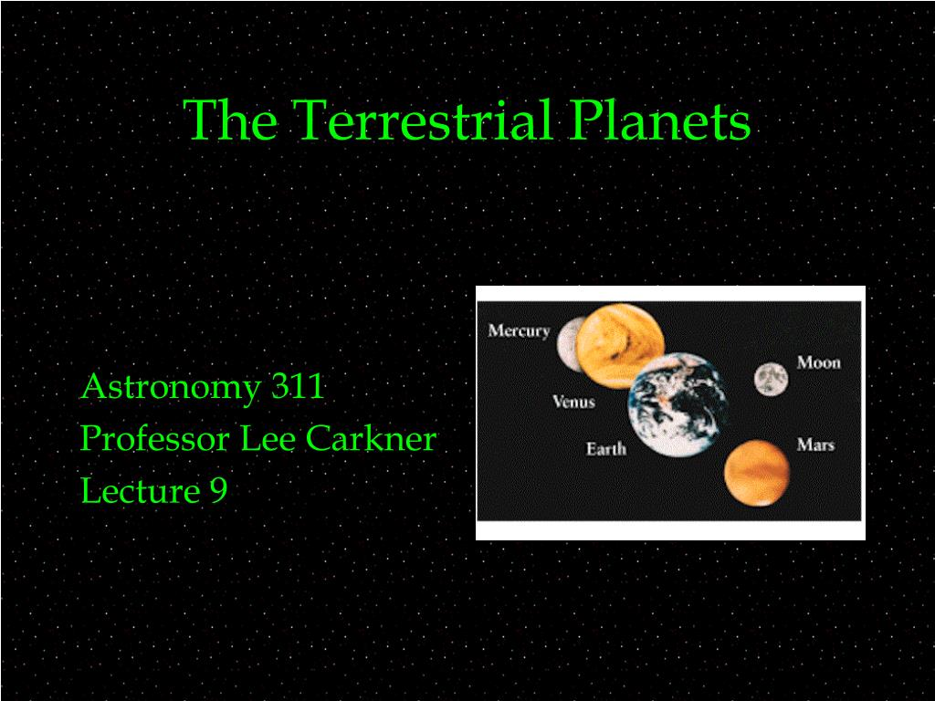 terrestrial planets astronomy - photo #41