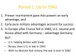 period 1 up to 1942