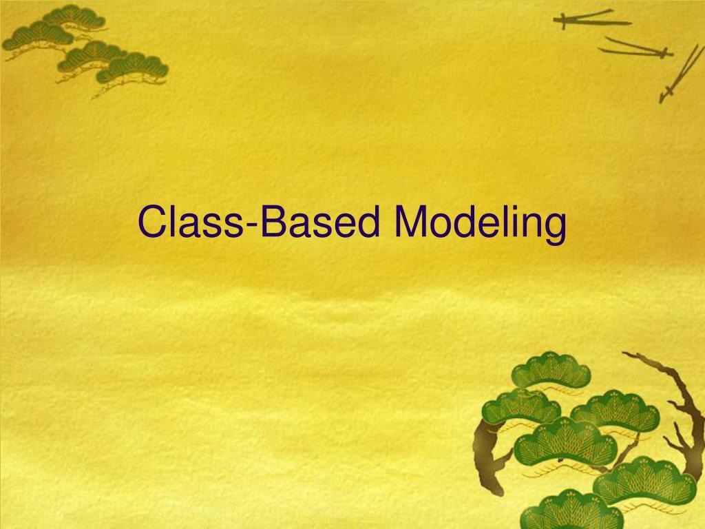 Class-Based Modeling