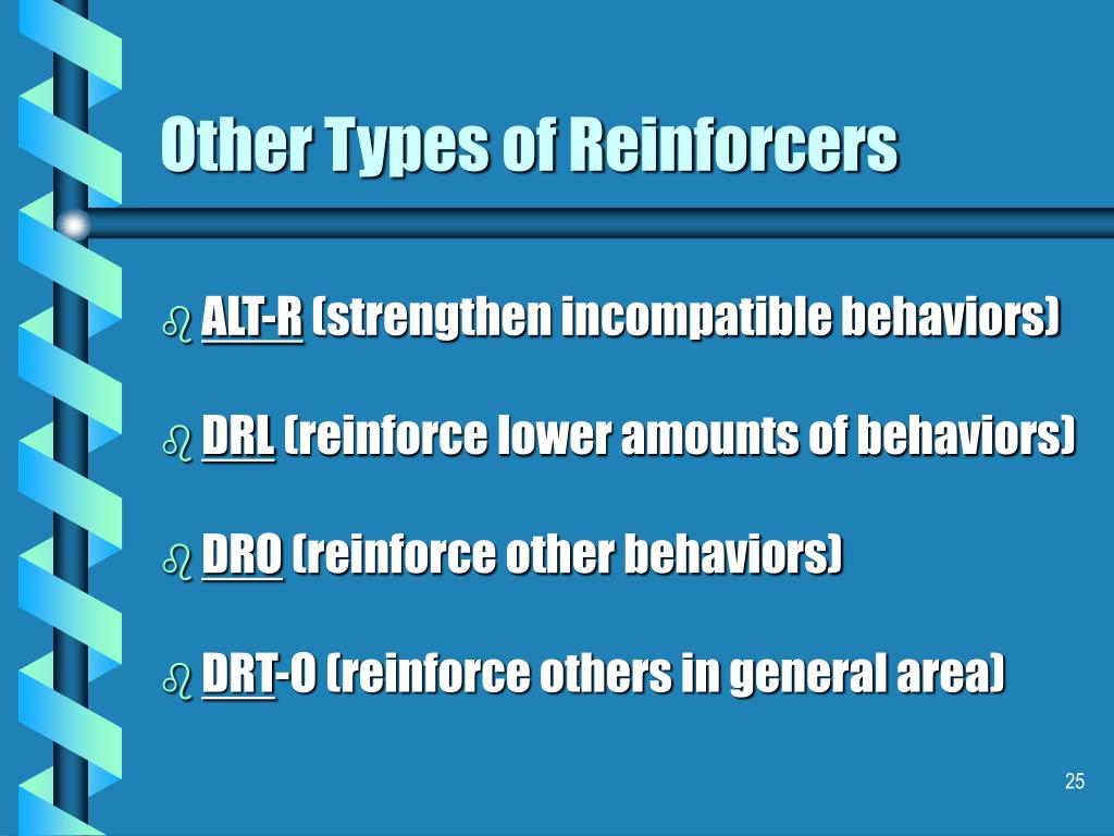 Other Types of Reinforcers