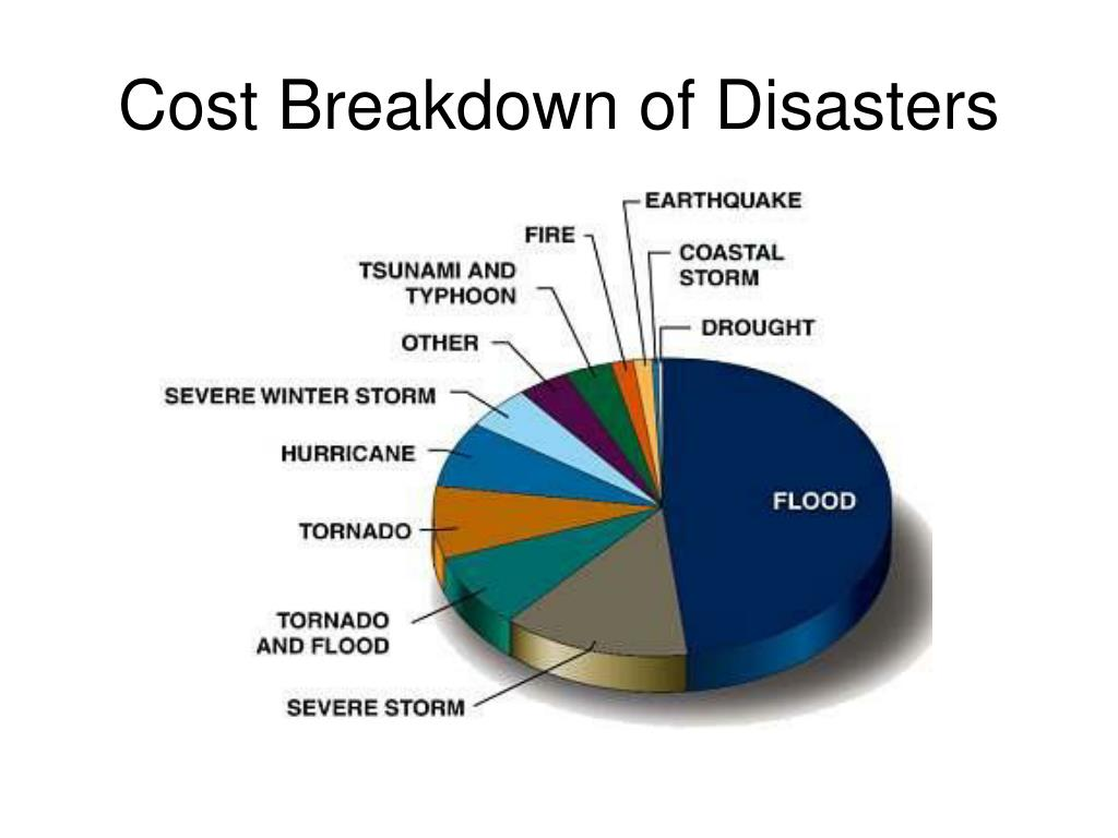Cost Breakdown of Disasters