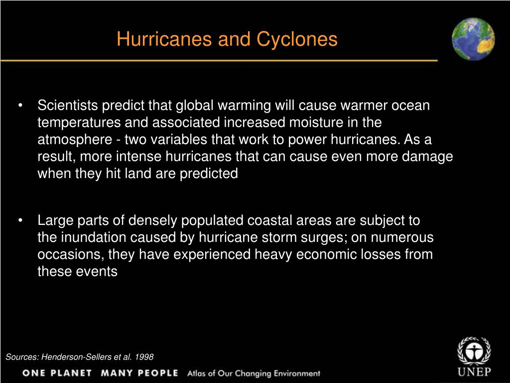 Hurricanes and Cyclones