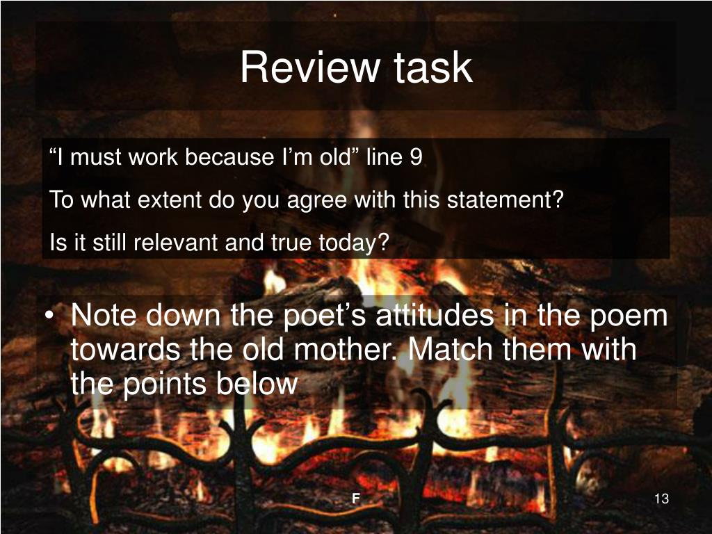 Review task