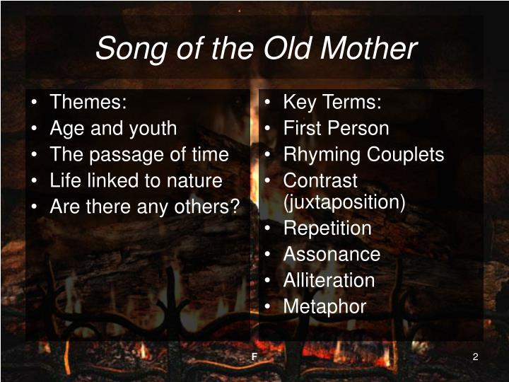 Song of the old mother2