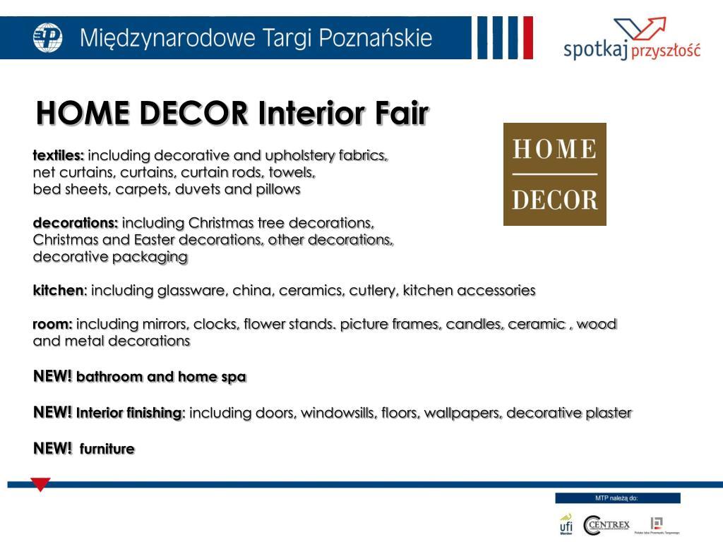 HOME DECOR Interior Fair