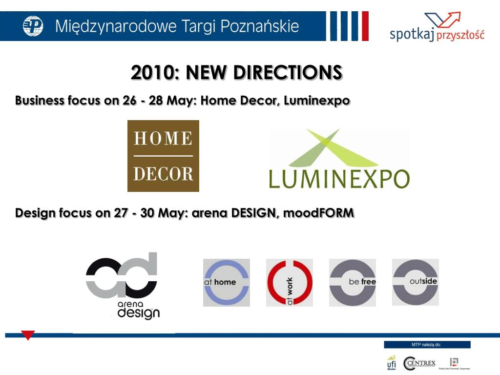 Business focus on 26 - 28 May: Home Decor, Luminexpo
