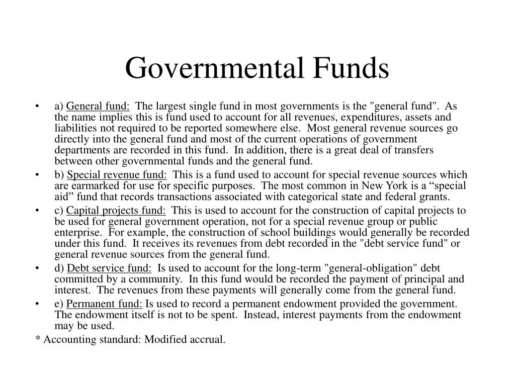 Governmental Funds