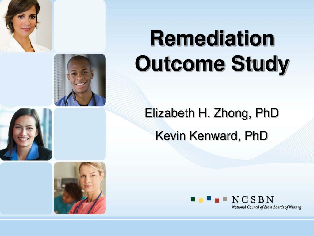 Remediation Outcome Study