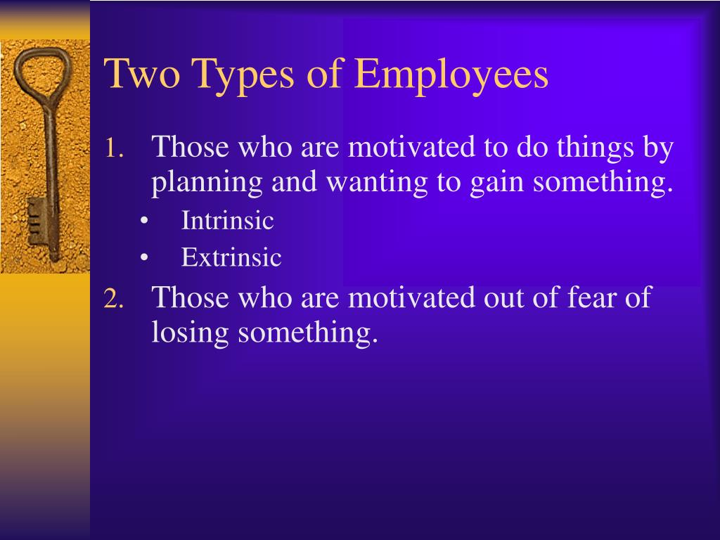 Two Types of Employees