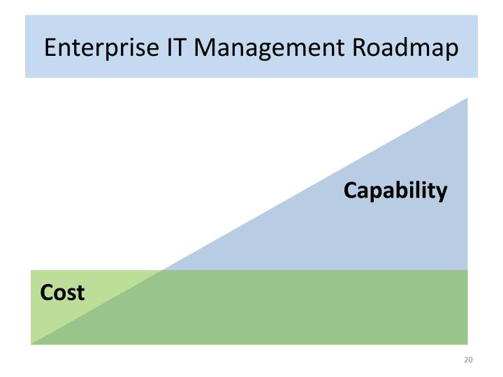 Enterprise IT Management Roadmap