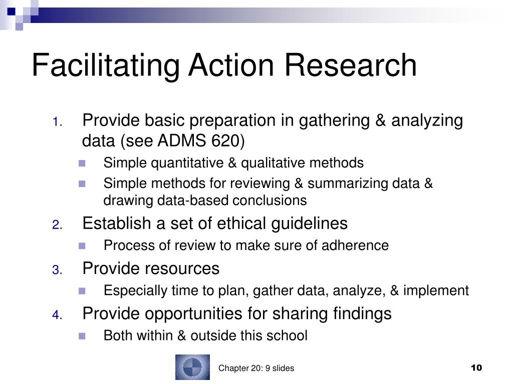Facilitating Action Research