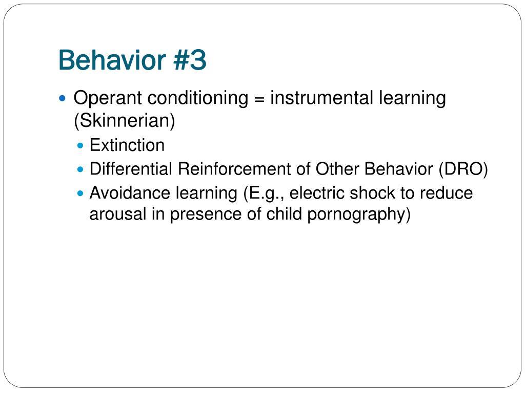 Behavior #3