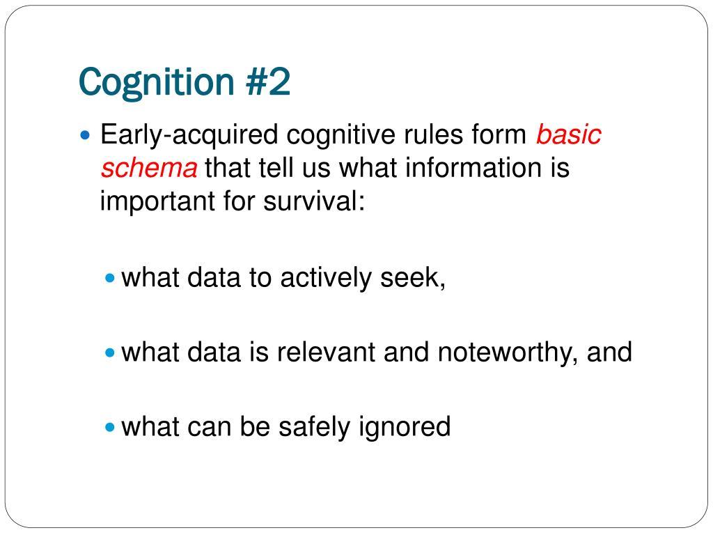 Cognition #2