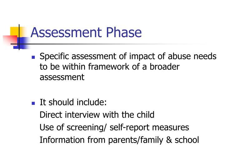 Assessment Phase