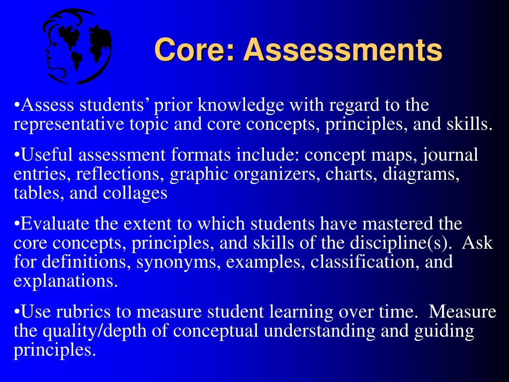 Core: Assessments