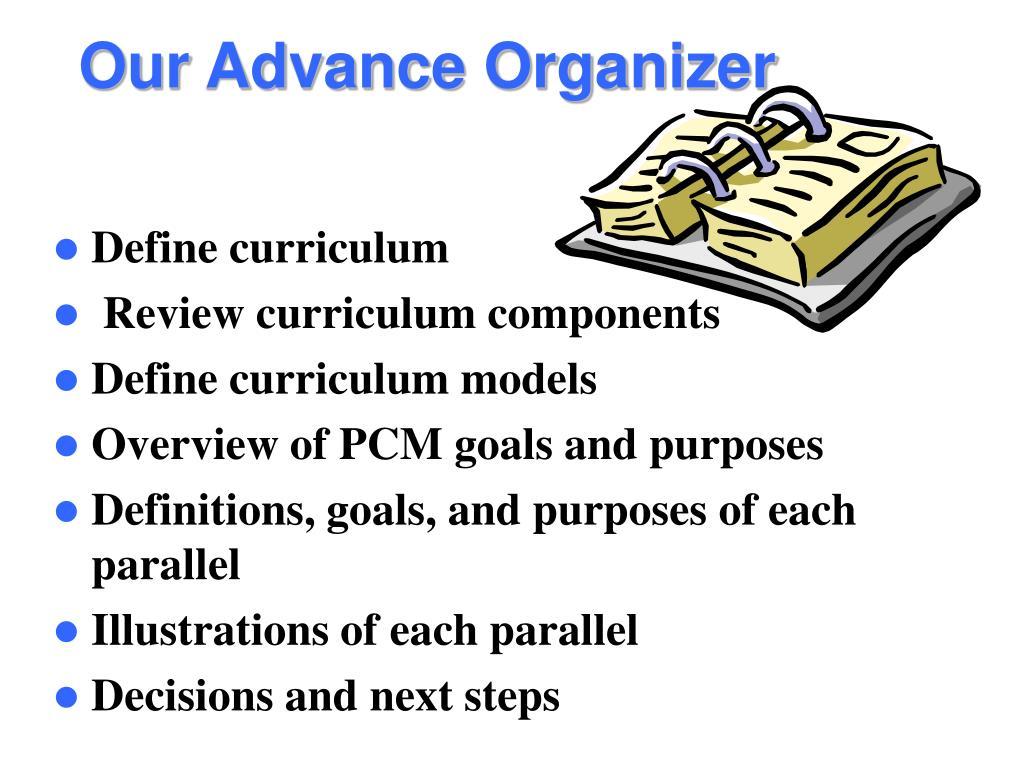 Define curriculum