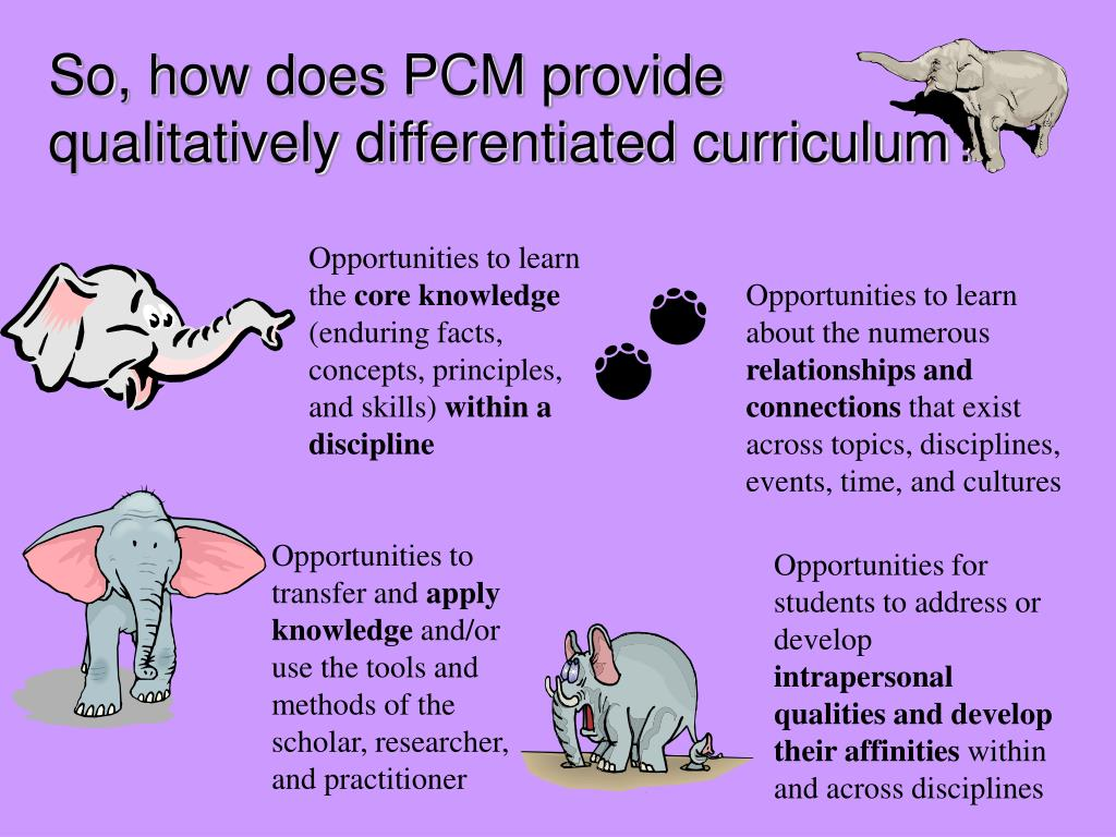 So, how does PCM provide