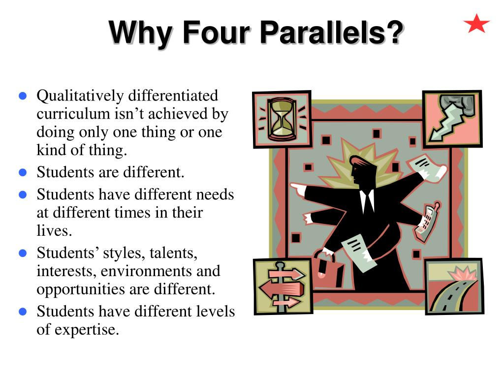 Why Four Parallels?
