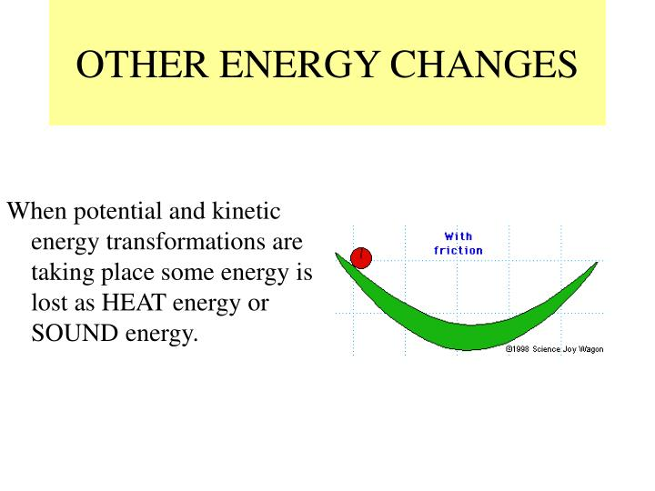OTHER ENERGY CHANGES