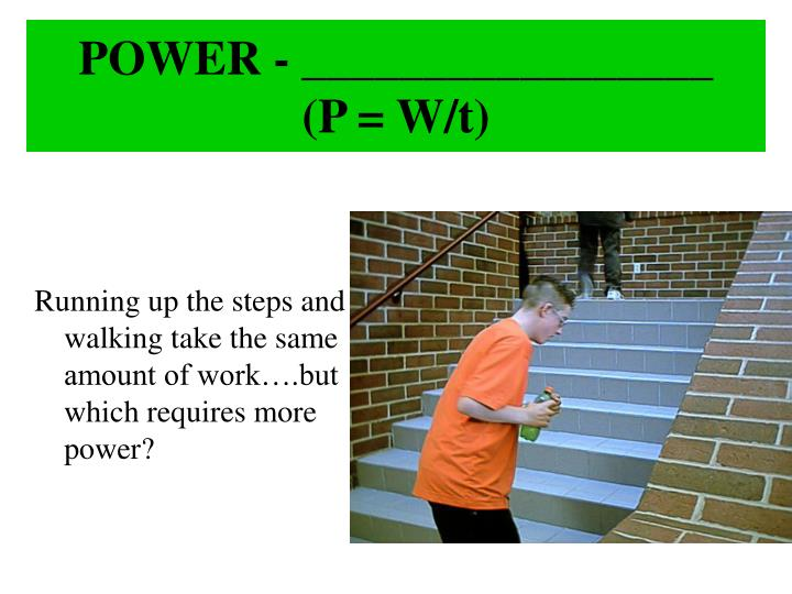 POWER - _________________