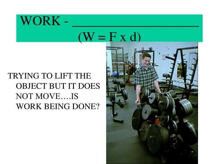 WORK - ___________________