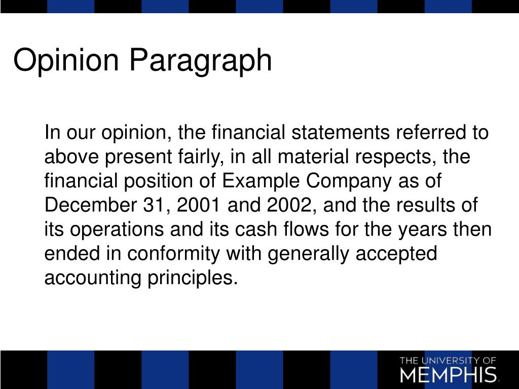 Opinion Paragraph