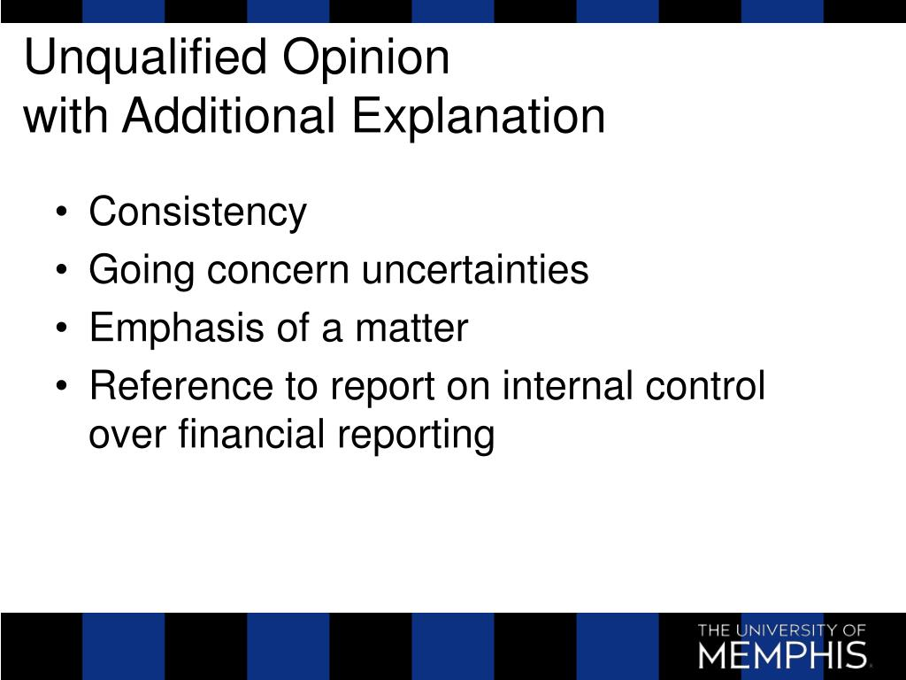 Unqualified Opinion