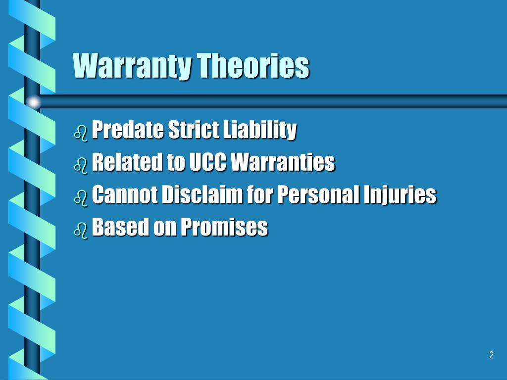 Warranty Theories