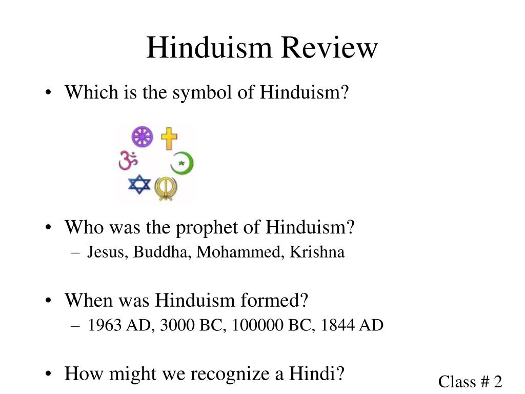 Hinduism Review
