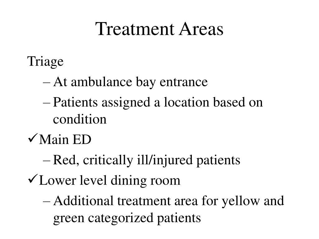 Treatment Areas